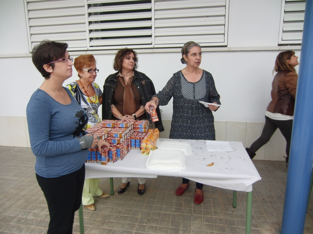 Fiestas de Viator 2012 I: churritos con chocolate (3/6)